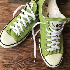 Lime Green Converse 9